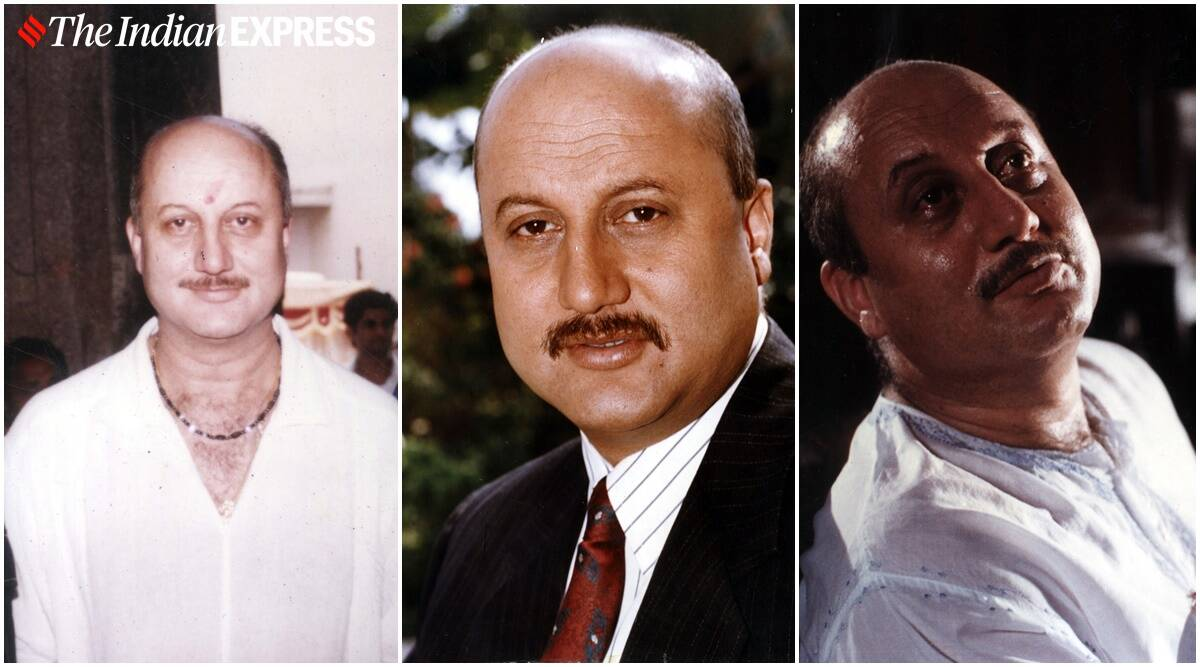 Anupam Kher turns 66: Rare photos of the versatile actor - The Indian Express