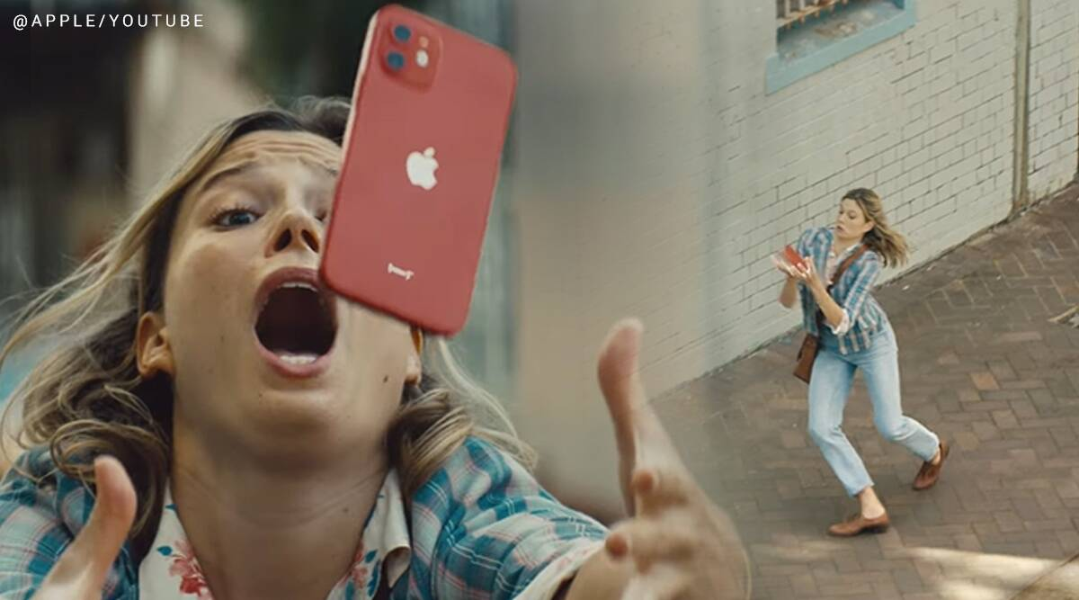 apple, apple 12, Apple iPhone 12 durability, Apple new ad, Fumble, new apple iphone ad Fumble tabla, indian twist, trending, indian expres, indian express news