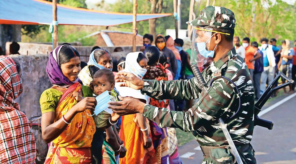 TMC-BJP khela begins, 80% vote in Bengal  Phase 1; 77% in Assam