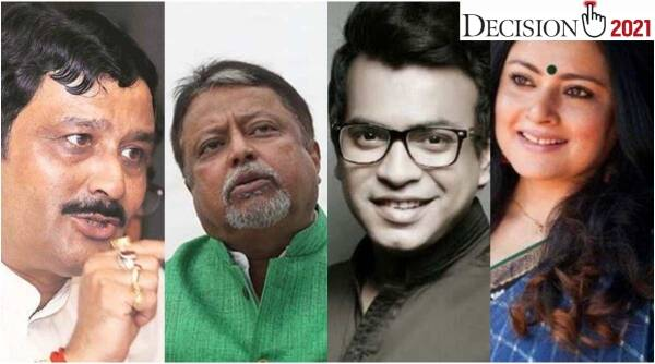 BJP fourth list, bengal bjp list, West Bengal assembly elections, Rudrani ghosh, Parno Mitra, Rahul Sinha, indian express