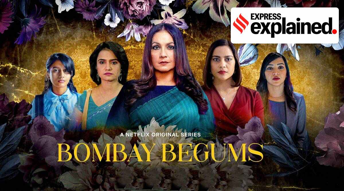 bombay begums controversy, Bombay begums ncpcr row, Bombay begums child rights controversy, Netflix web series, indian express
