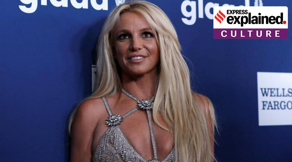 Britney Spears, Britney Spears father, Britney Spears conservatorship, Jamie Spears, what is conservatorship, FreeBritney, indian express