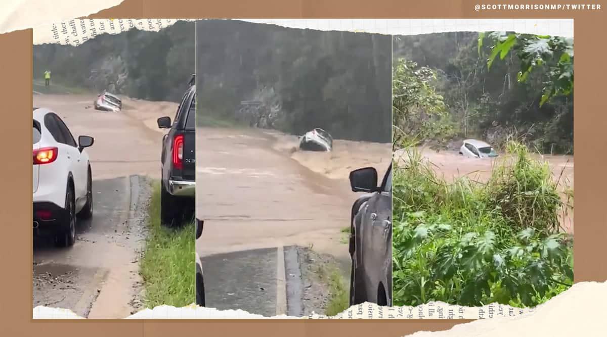 Australia, Australia rains, Australia rains videos, Australia rains trending, Australia rains warning, Australian Prime Minister Scott Morrison, indian express, indian express news