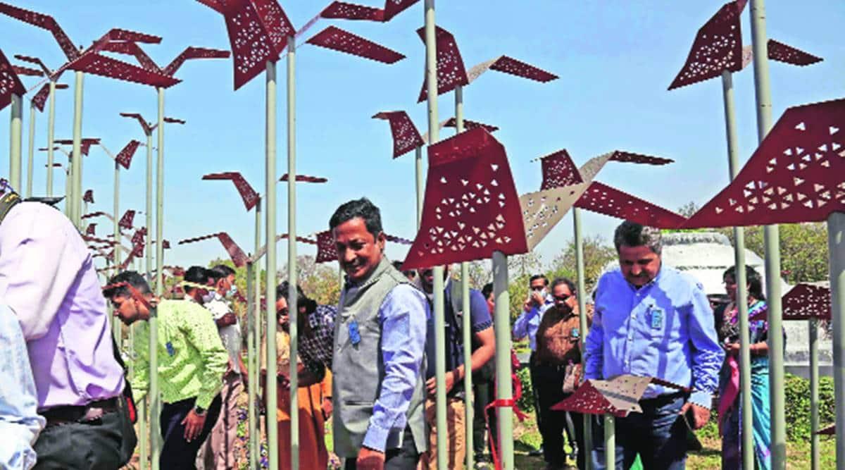 'Matka chowk installation symbolises liberty, adds to beauty of City Beautiful'