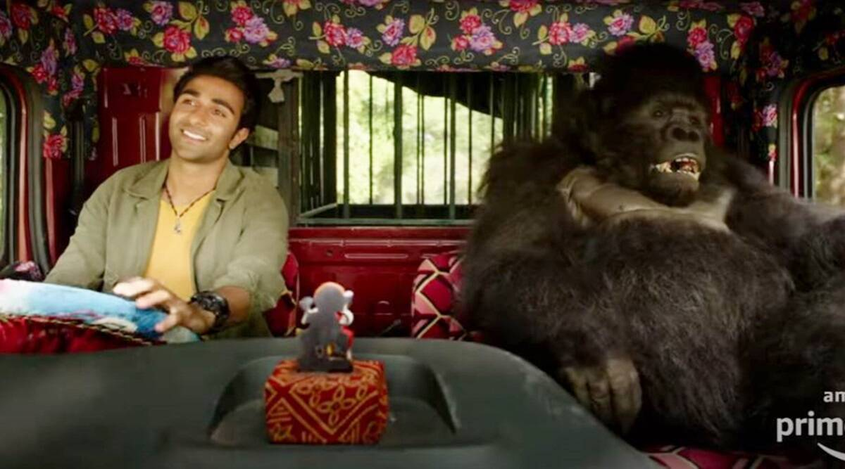 Hello Charlie teaser: Aadar Jain and his furry buddy promise an  entertaining film, watch | Entertainment News,The Indian Express
