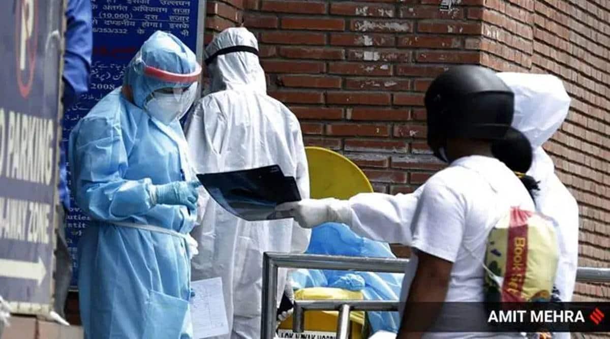 Delhi covid cases, Delhi coronavirus positivity rate, Delhi covid recovery, Delhi news, Indian express news