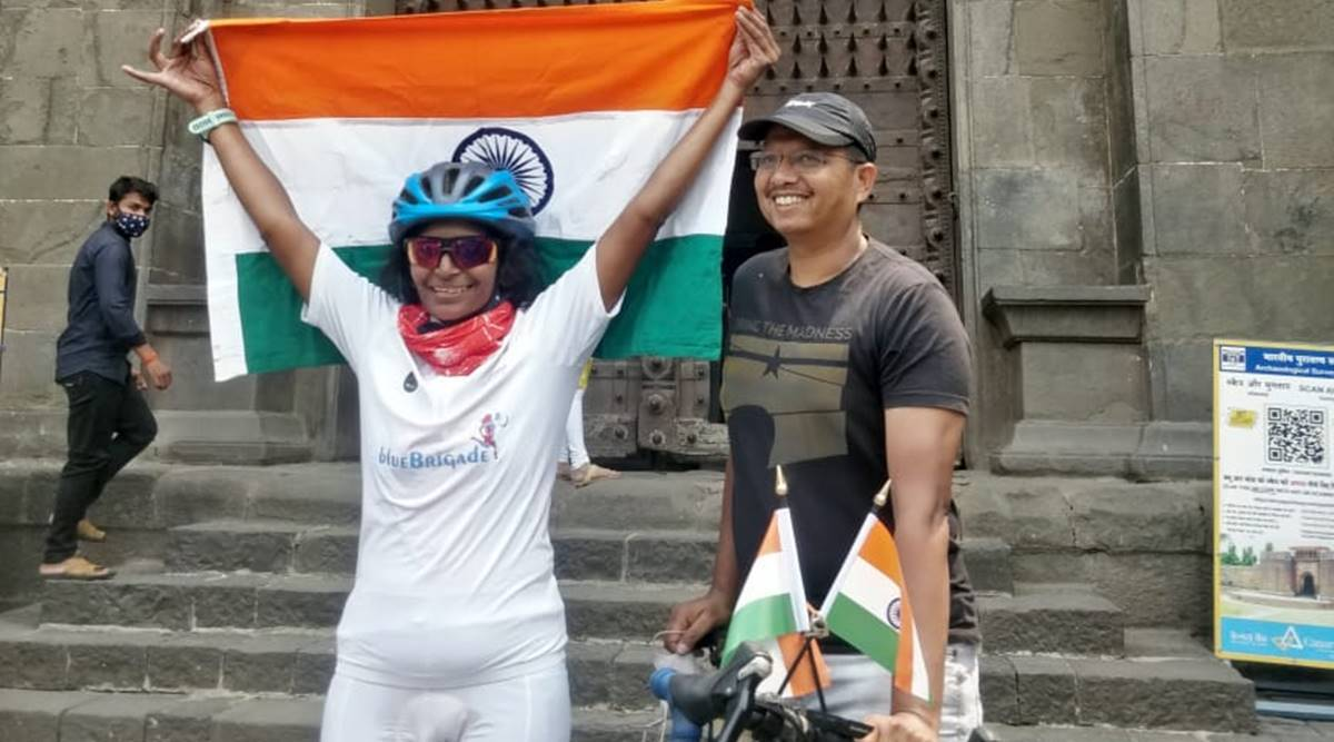 Braving summer heat, Pune woman cycles 6,000 km in record time