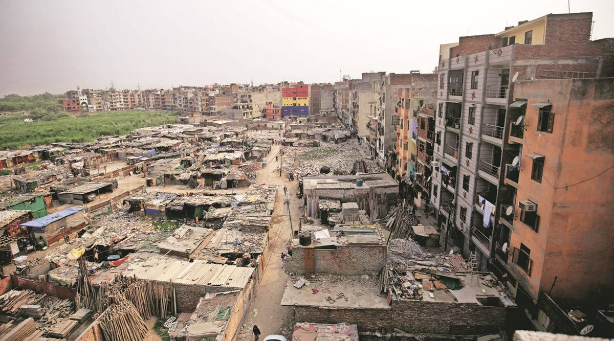 In Delhi, most live in homes that are too small, areas that are sub-standard