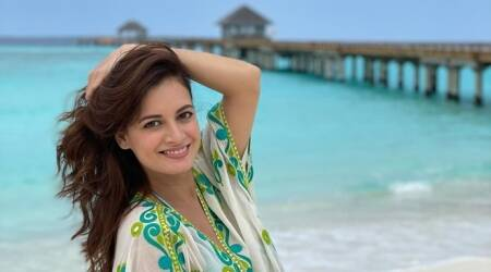 dia mirza maldives honeymood husband Vaibhav Rekhi photos