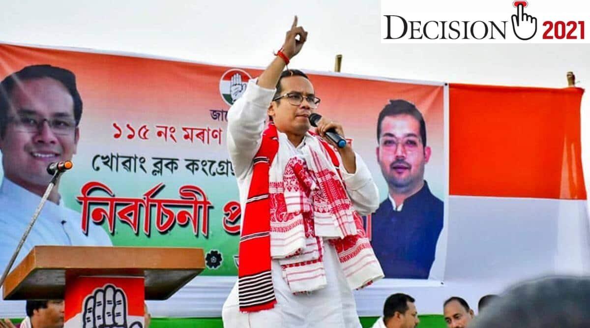 Gaurava Gogoi Assam elections