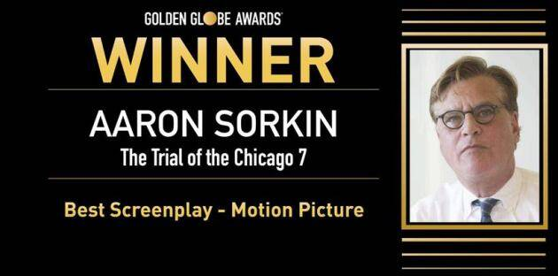 Aaron Sorkin, golden globes, golden globes 2021
