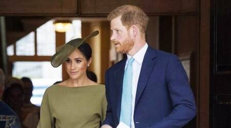 james corden show, how did harry meet meghan markle, harry and james corden show, harry and meghan, meghan harry love story, indianexpress.com, indianexpress,