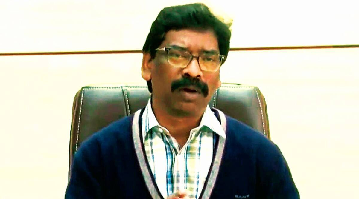 Jharkhand covid news, Jharkhand coronavirus news, hemant soren, jharkhand health workers salary, indian express