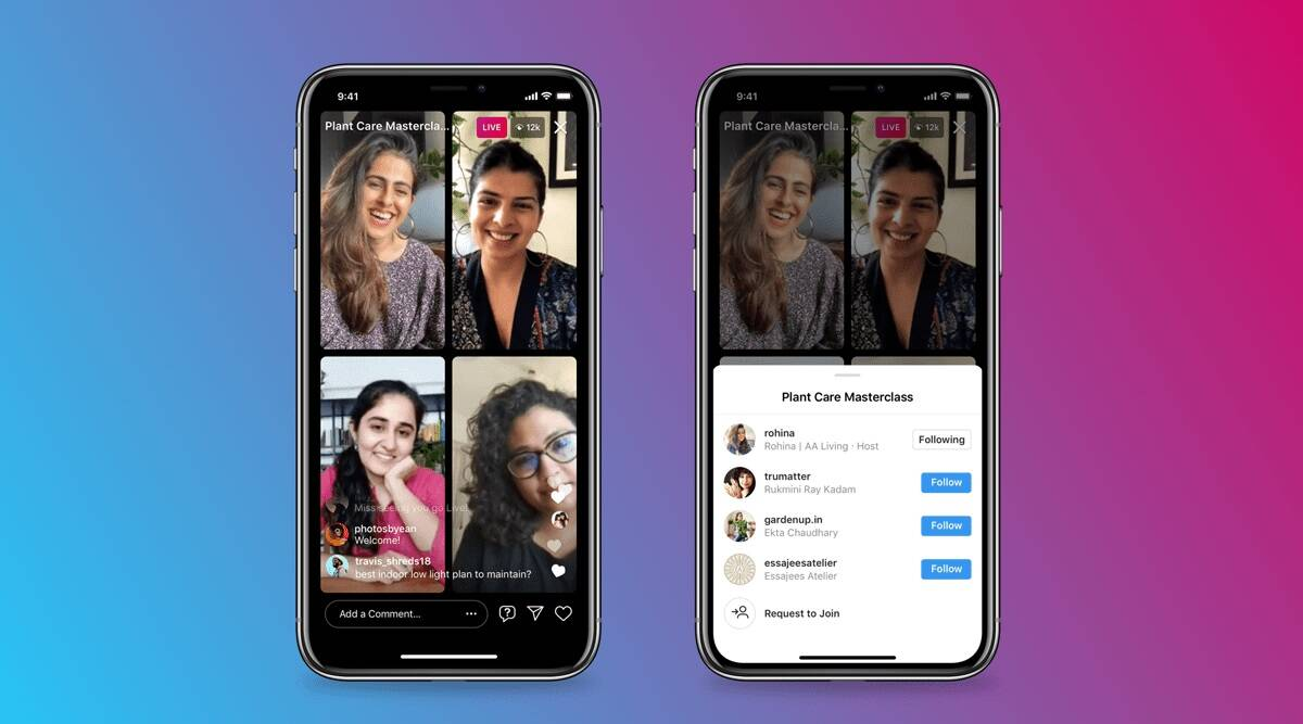 instagram, instagram live rooms, instagram live user limit, instagram live rooms features, instagram live rooms moderator controls, how to start instagram live room