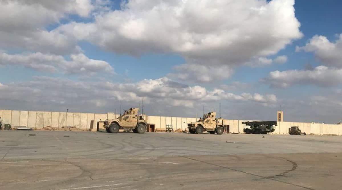 New attack on Iraqi air base fits profile of Iran-backed militia, say US officials