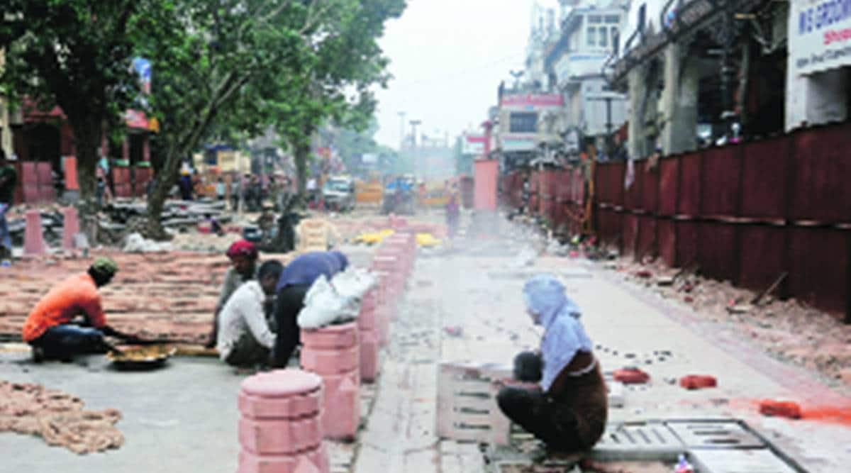 On PWD facelift list: Jama Masjid area, Netaji Subhash Marg
