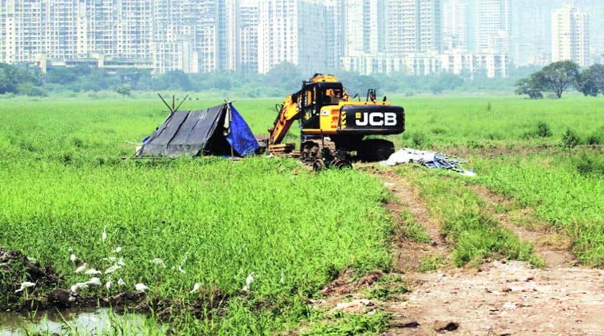 MMRDA, Bombay HC, Kanjurmarg Metro, Kanjurmarg Metro car shed, Kanjurmarg Metro stay, indian express news