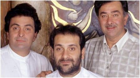 Randhir Kapoor- Rishi Kapoor- Rajiv Kapoor