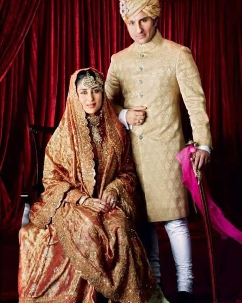 kareena, saif wedding
