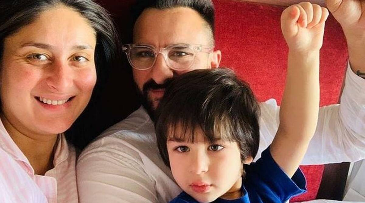 kareena kapoor khan and saif ali khan with taimur