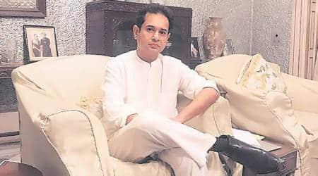 Tripura news, ADC polls, Attack on TIPRA chief, Pradyot Kishore Manikya Debbarma, royal scion attacked, SDM office attacked, northeast news, Indian express news
