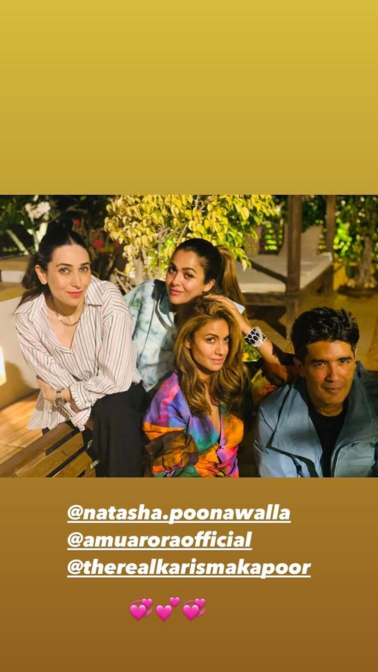 manish, karisma, amrita, natasha