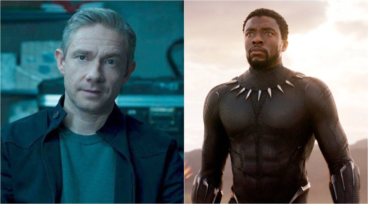 Martin Freeman On Doing Black Panther 2 Without Chadwick Boseman Don T Know What That S Going To Look Like Entertainment News The Indian Express
