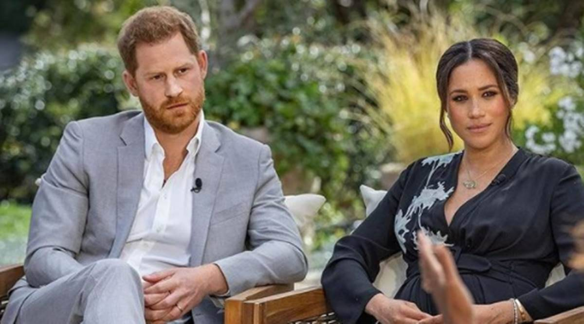 Meghan Markle, Meghan Markle interview, Meghan Markle news, Meghan Markle right to privacy, Meghan Markle basic privacy rights, Meghan Markle Oprah interview, Prince Harry, indian express news