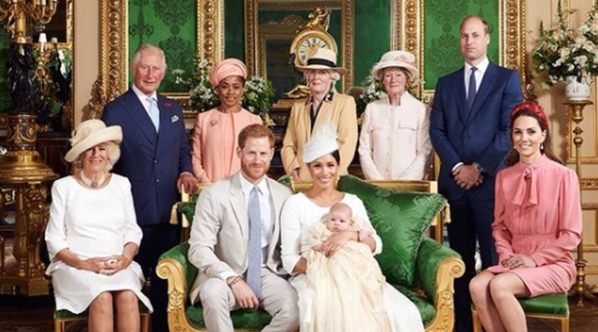 meghan markle, prince harry, archie, biritsh royal family