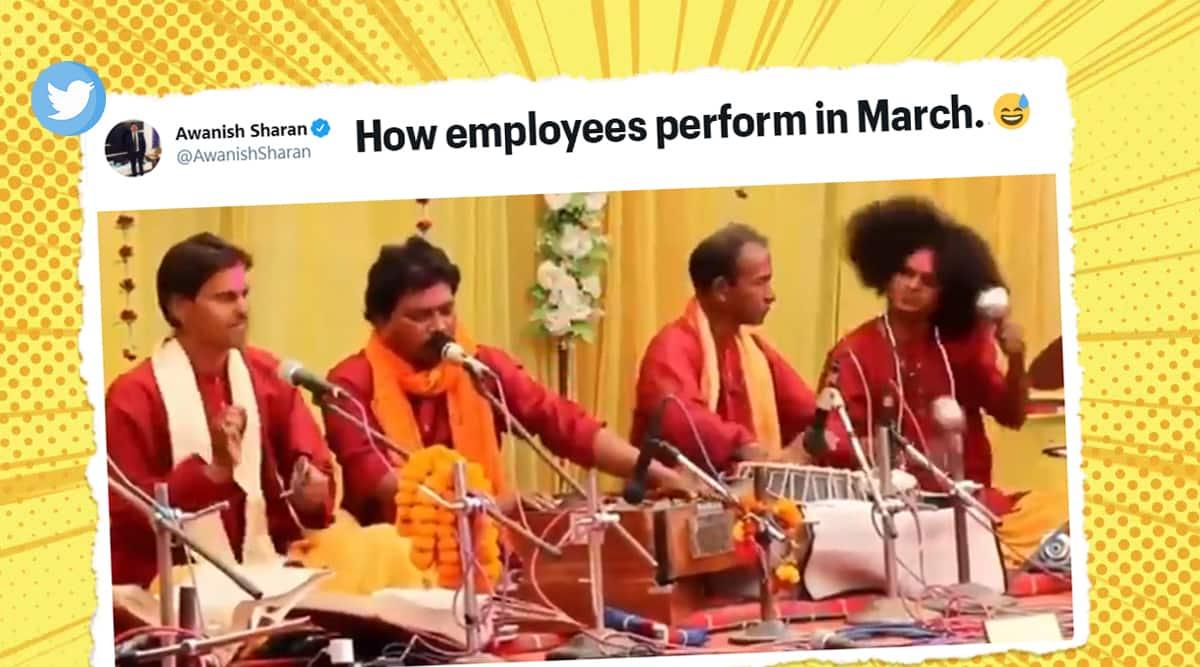 Meme template, latest meme template, musician's performance viral video, musicians performance hilarious expression memes, Viral video, Trending news, Indian Express news.