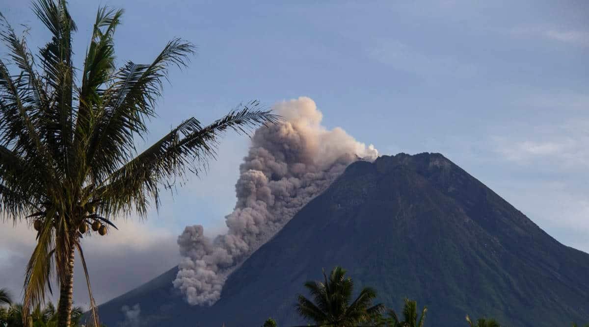 Indonesia's Merapi volcano spews ash, debris in new eruption
