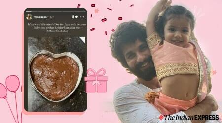 misha kapoor, shahid kapoor-misha kapoor, shahid kapoor family, mira kapoor news, mira kapoor fitness, chocolate cake, baking news, misha kapoor baking, chocolate cake recipes, indianexpress.com, indianexpress,