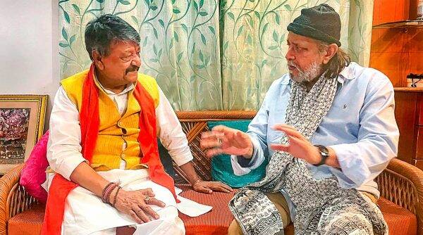 Actor Mithun Chakraborty joins BJP, vows to fight for rights of everyone in  Bengal | India News,The Indian Express