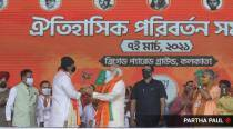 Mithun joins BJP, PM calls him 'Banglar Chhele'