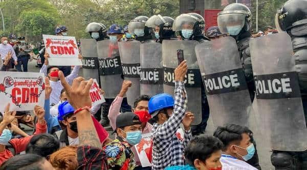 Myanmar, Myanmar military coup, Myanmar coup, Myanmar refugees in Mizoram, Mizoram Myanmar, Indian Express