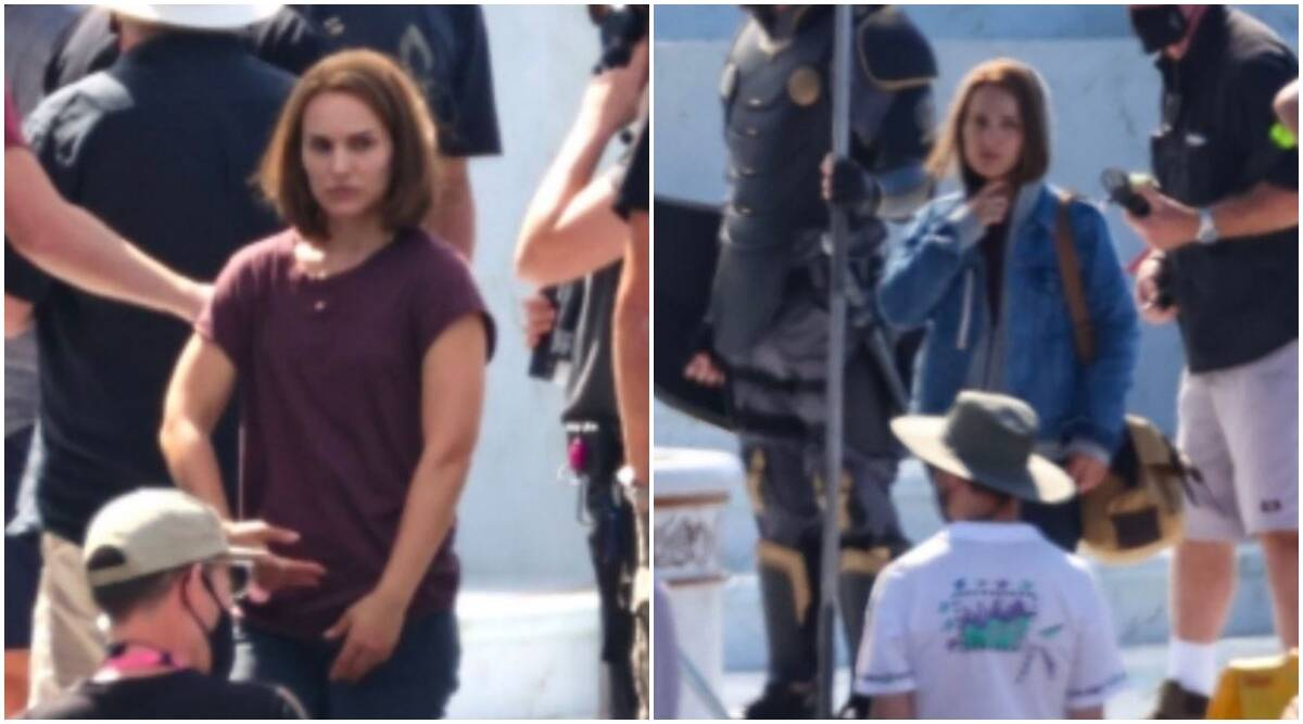 Thor Love and Thunder's leaked set photos give first look at Natalie Portman's female Thor, Tessa Thompson's Valkyrie