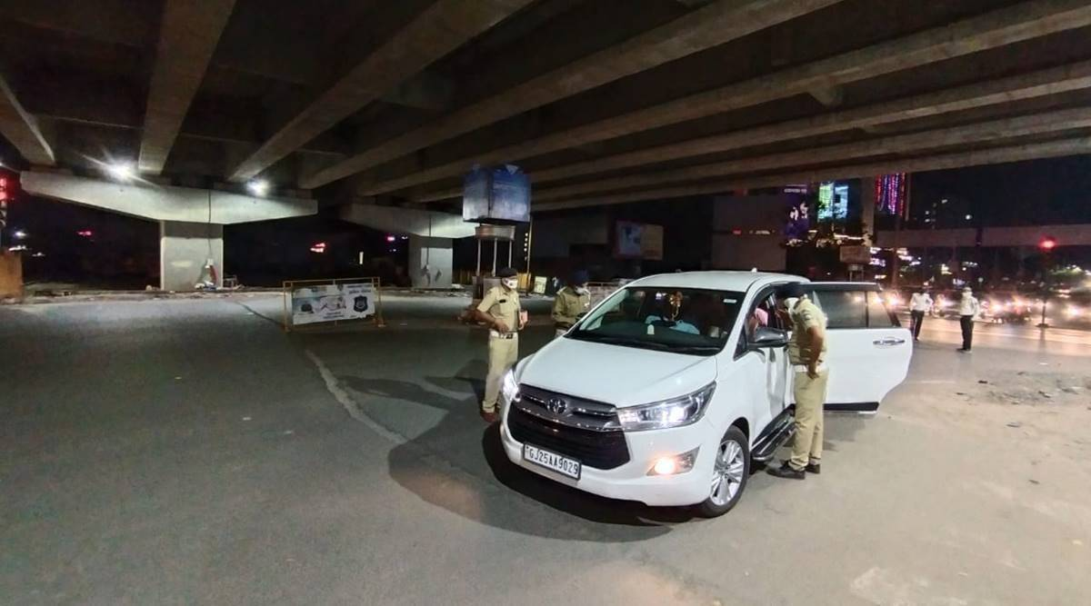 Curfew in Ahmedabad, Vadodara, Surat and Rajkot from 10 pm to 6 am | Cities  News,The Indian Express