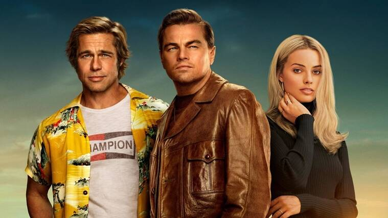 One Upon a Time in Hollywood, brad pitt, margot robbie, leonardo dicaprio
