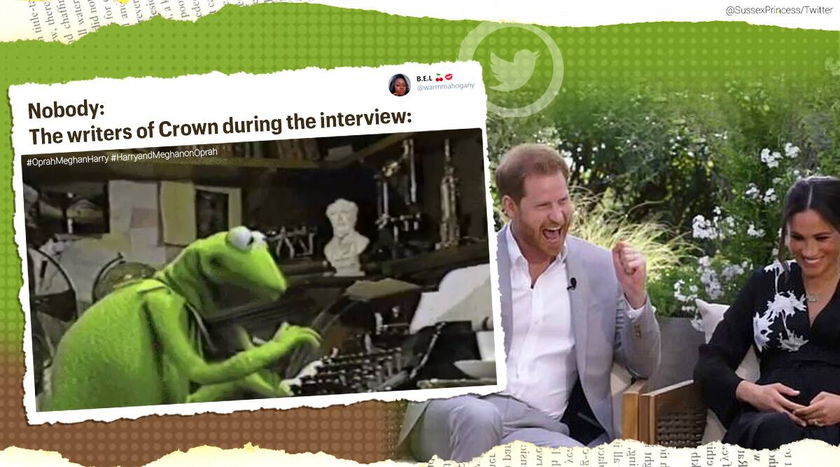 'I didn't want to be alive anymore': Meghan Markle-Prince Harry's revelations during Oprah interview leave internet shocked - The Indian Express