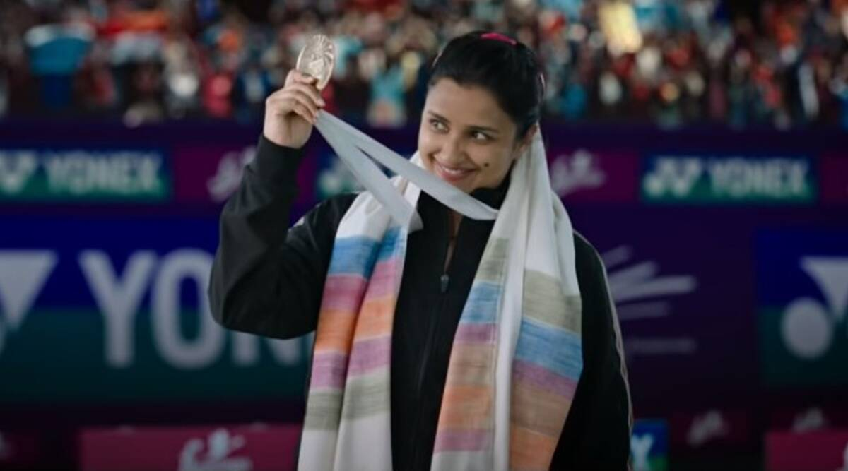 Saina trailer: Parineeti Chopra promises to break the Great Wall of China in her quest for No 1 title - The Indian Express