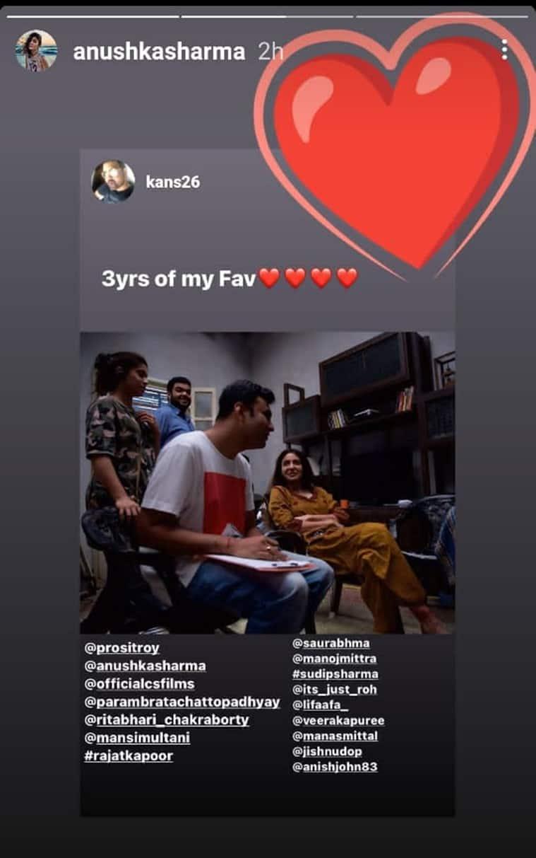 pari anniversary anushka sharma