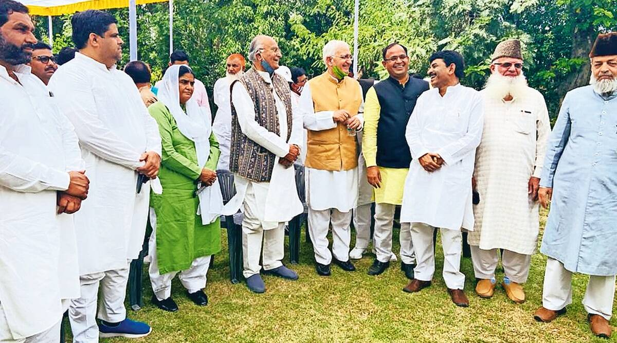 Rajasthan ex-health minister holds meeting of Muslim leaders, denies show of strength