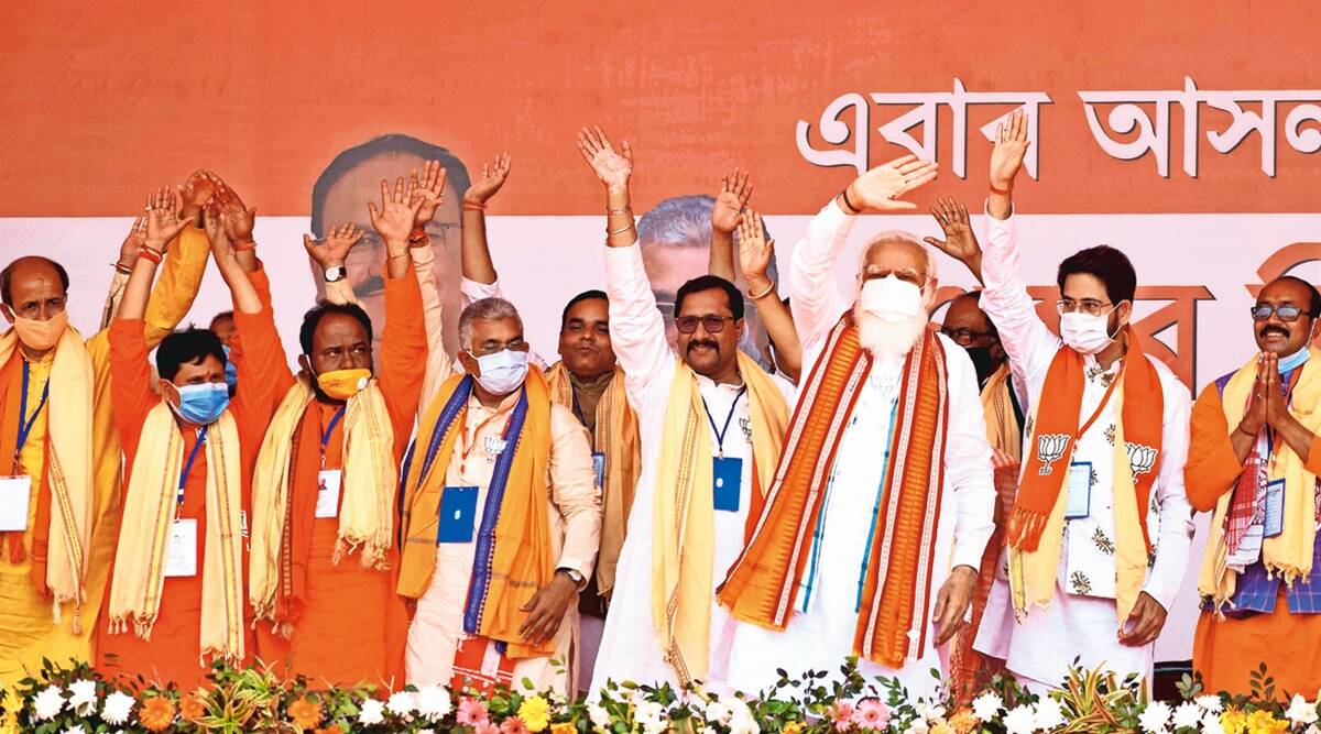 In BJP Bengal list, 36 joined the party over last six months