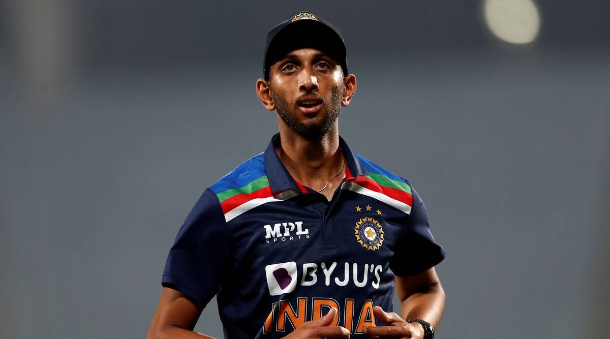 From spiker to fast bowler: How lanky Prasidh Krishna became the newest pace sensation | Sports News,The Indian Express
