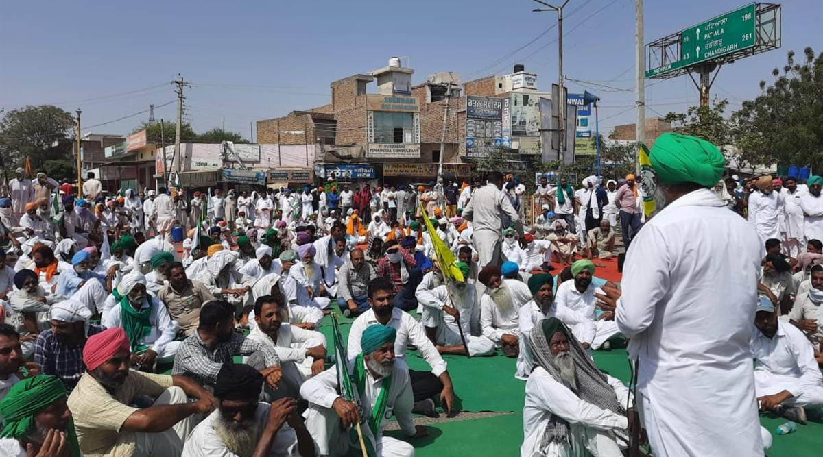farmers protest, farmers protest in punjab, farmers protest in haryana, india news, indian express