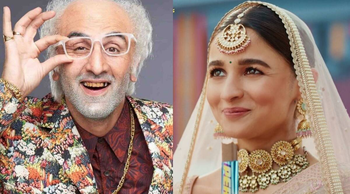 Alia Bhatt is a gorgeous bride as Ranbir Kapoor ages in new ads, Twitter cannot stop laughing. Watch videos - The Indian Express