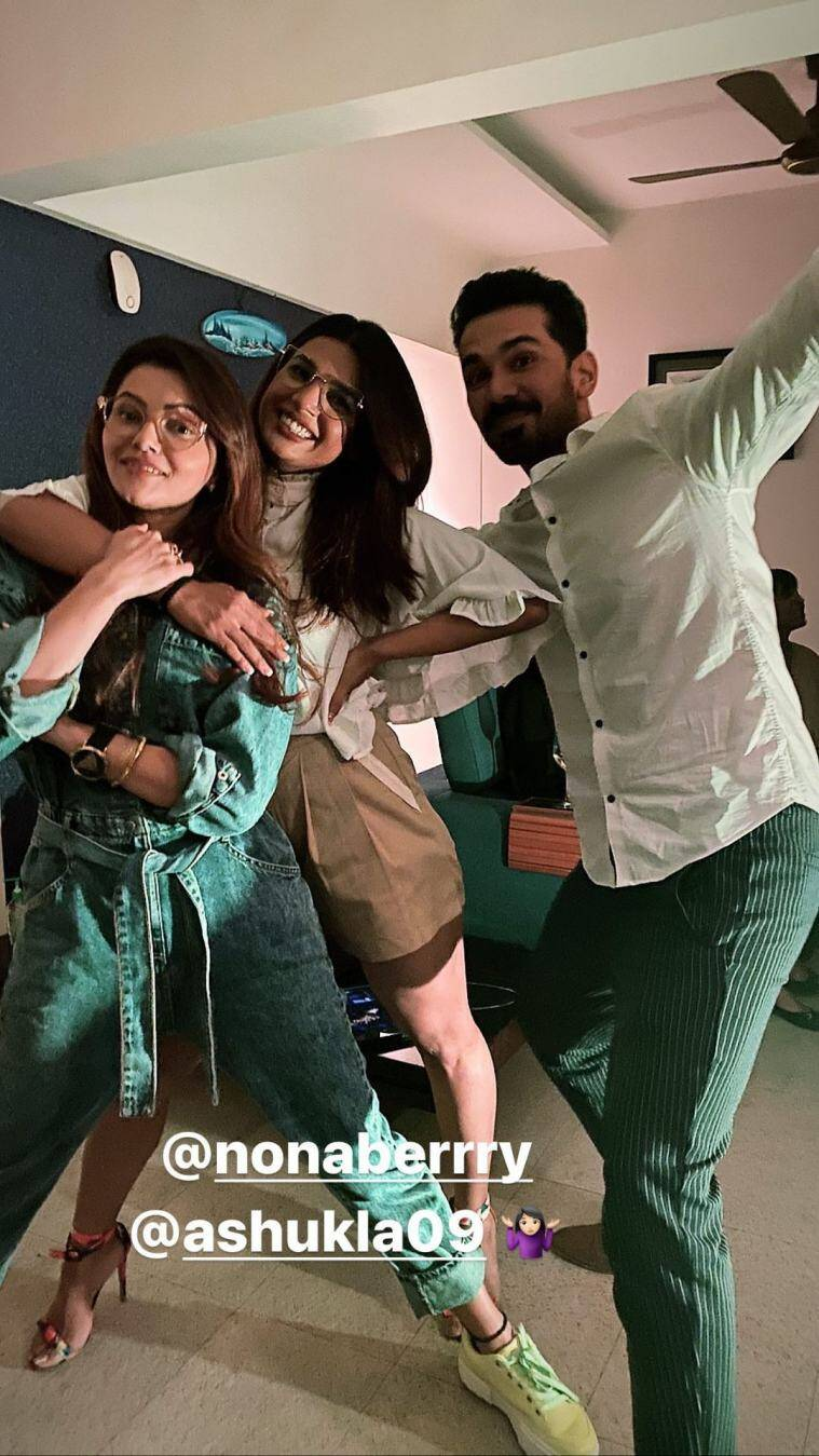 rubina dilaik bigg boss party