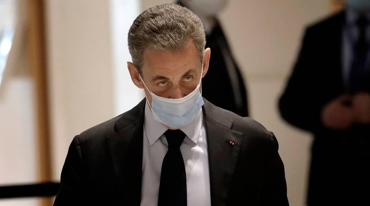 Nicolas Sarkozy, Nicolas Sarkozy news, Nicolas Sarkozy trial, Nicolas Sarkozy case, Nicolas Sarkozy jail, Indian Express