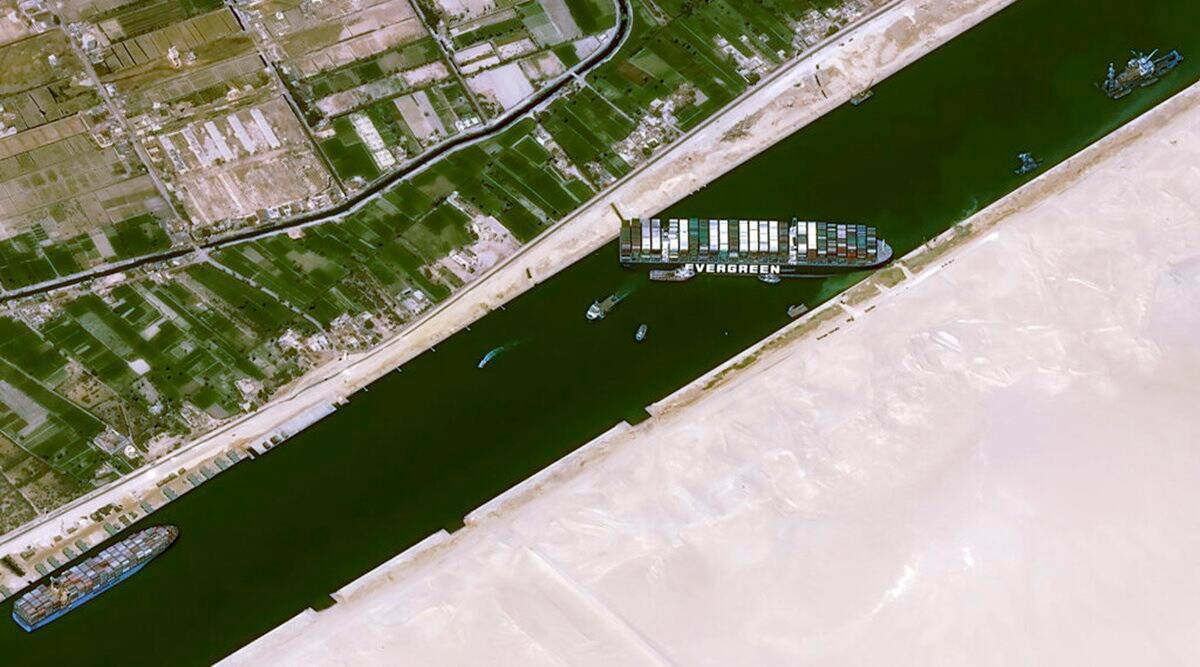Suez Canal, Ever Given