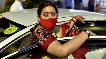 Cong most corrupt party, vote for BJP to continue to avail centre and state schemes: Smriti Irani